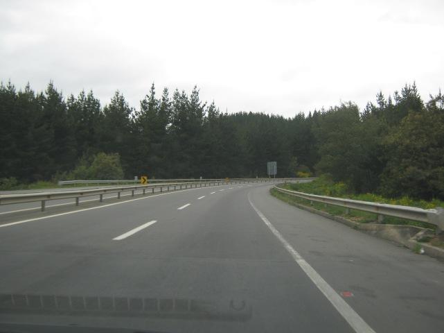 Na estrada rumo a Puerto Varas