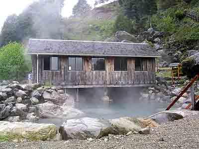 Poço termal das Termas Los Pozones