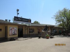 Entrada do Lion Park em Joanesburgo