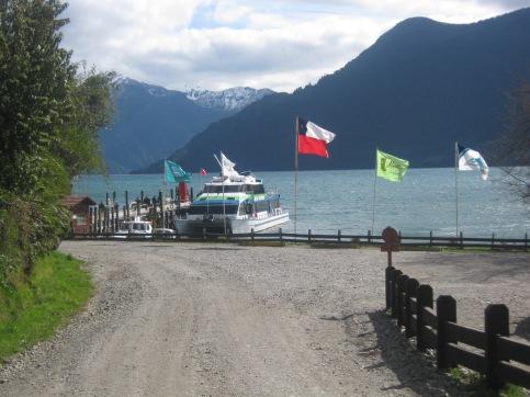 Acesso a Peulla no Chile