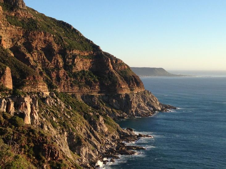 Chapman's Peak Drive na Cidade do Cabo