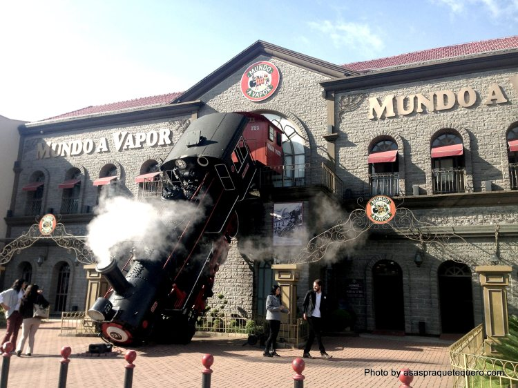 Atrações de Gramado e Canela Mundo a Vapor Canela