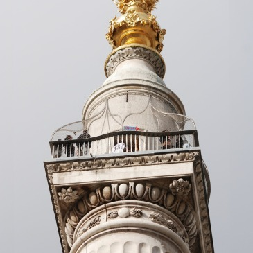 monumento do grande incêndio atrações e passeios de Londres
