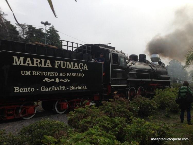 Maria Fumaça - maria fumaça gramado