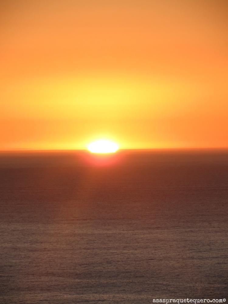 por do sol africa