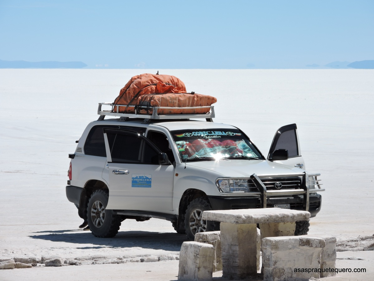 Do Atacama ao Salar de Uyuni em tour privado